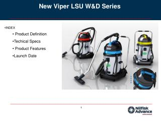 New Viper LSU W&D Series