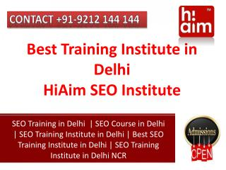 Internet Marketing Training Institute in Delhi NCR