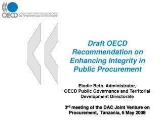 Applying elements of good governance in public procurement