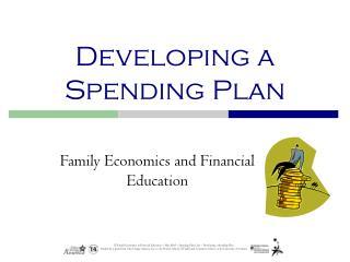 Developing a Spending Plan