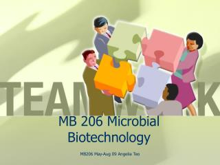 MB 206 Microbial Biotechnology