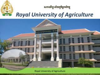 Royal University of Agriculture