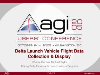 Delta Launch Vehicle Flight Data Collection & Display
