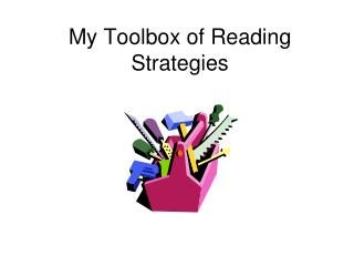 My Toolbox of Reading Strategies