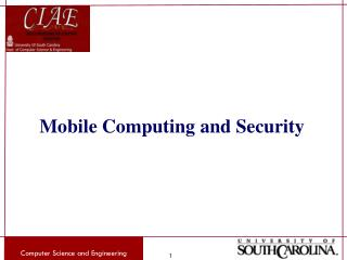 Mobile Computing and Security