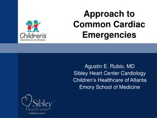 Approach to Common Cardiac Emergencies