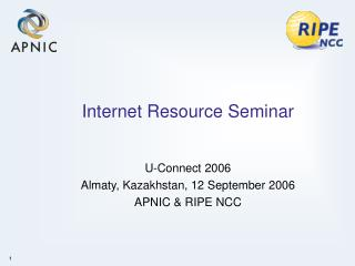 Internet Resource Seminar