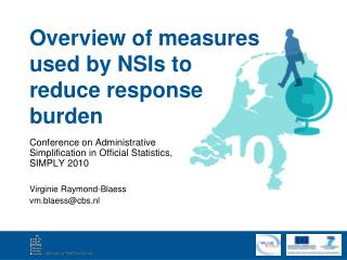 Overview of measures used by NSIs to reduce response burden