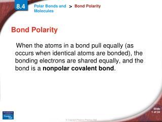 Bond Polarity