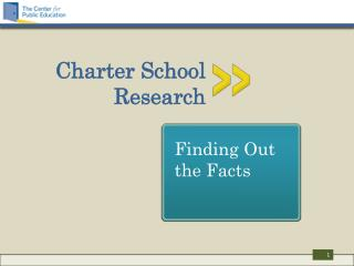 Charter School  Research