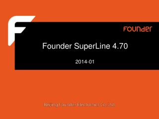 Founder SuperLine 4.70