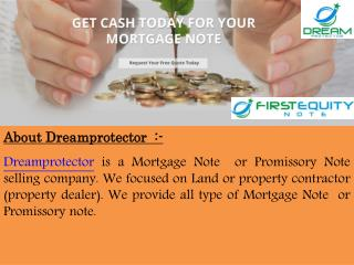 Buy mortgage note - Dreamprotector