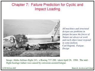 Chapter 7:  Failure Prediction for Cyclic and Impact Loading