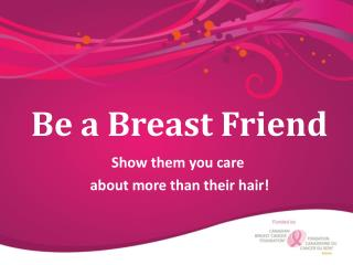 Be a Breast Friend