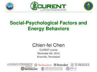 Social-Psychological Factors and Energy Behaviors
