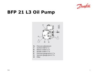 BFP 21 L3 Oil Pump