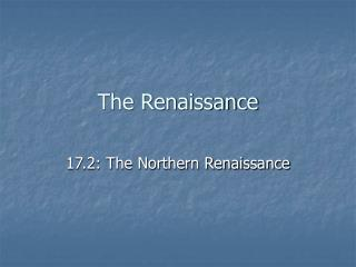differences between northern and italian renaissance art