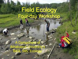 Field Ecology Four-day Workshop