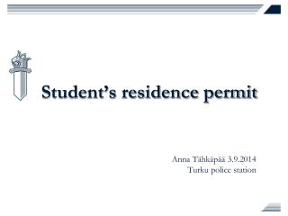 Student's residence permit