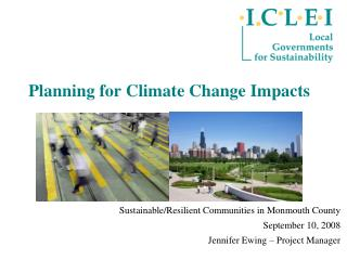 Planning for Climate Change Impacts
