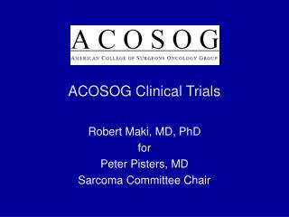 ACOSOG Clinical Trials