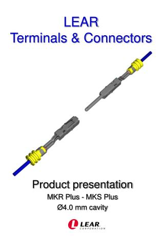 LEAR Terminals & Connectors