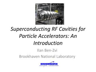 Superconducting RF Cavities for Particle Accelerators: An Introduction