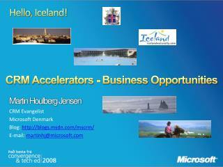 CRM Accelerators - Business  Opportunities
