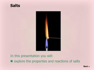 In this presentation you will: