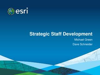Strategic Staff Development