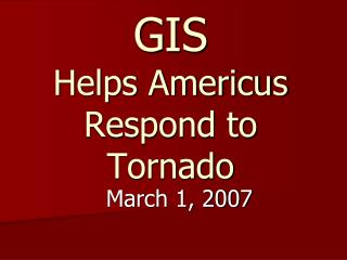 Americus Area Deaths >> PPT - Deadly tornado hits China PowerPoint Presentation - ID:7359998