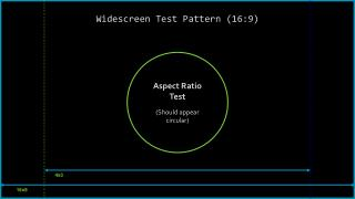 Widescreen Test Pattern (16:9)