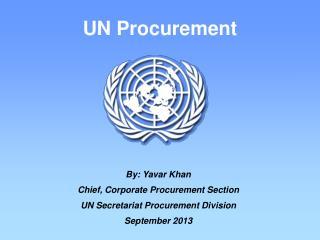 UN Procurement