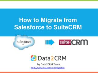 Migrate Salesforce to SuiteCRM with Ease