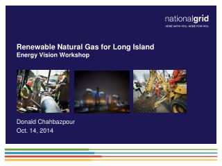 Renewable Natural Gas for Long Island Energy Vision Workshop