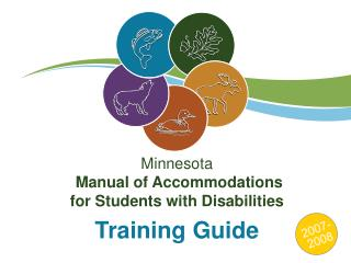 Minnesota   Manual of Accommodations for Students with Disabilities  Training Guide