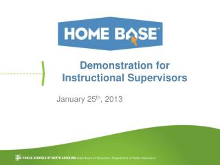 Demonstration for Instructional Supervisors