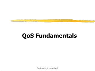 QoS Fundamentals