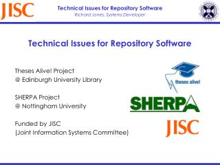 Technical Issues for Repository Software