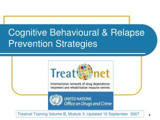 Cognitive Behavioural  Relapse Prevention Strategies