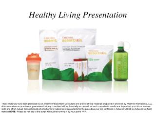 Healthy Living Presentation