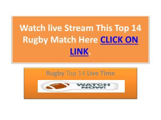 Agen vs Toulouse Live Stream HD Top 14 Rugby 2010
