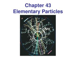 Chapter 43 Elementary Particles
