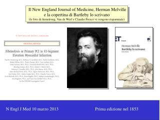 Il New England Journal of Medicine, Herman Melville e la copertina di Bartleby lo scrivano