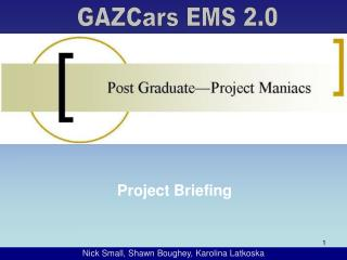 Project Briefing