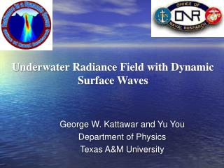 Underwater Radiance Field with Dynamic Surface Waves