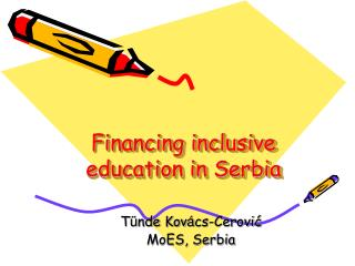 Financing inclusive education in Serbia
