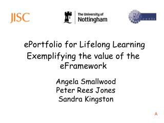 ePortfolio for Lifelong Learning