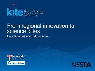 From regional innovation to science cities