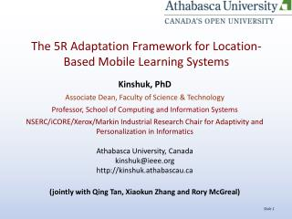 The 5R Adaptation Framework for Location-Based Mobile Learning Systems